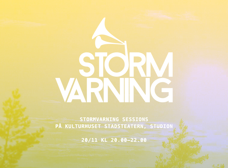 Stormvarning Sessions 20/11